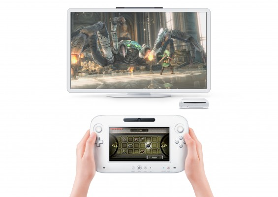 2011 HW 3 imge11 E3 565x400 Nintendos Wii U Console Announced   6.2 Screen in Controller