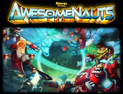 Awesomenauts logo Online Battle Game Awesomenauts Announced For Xbox Live Arcade, Playstation Network