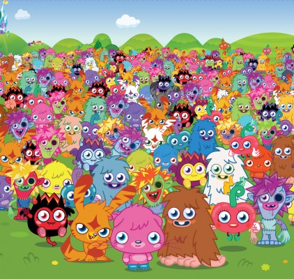 Moshi millionsofmonsters 422x400 Moshi Monsters Tops 50 Million Users