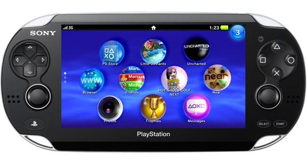 Playstation Vita substitute the name of NGP 21 Sony E3 2011 Recap