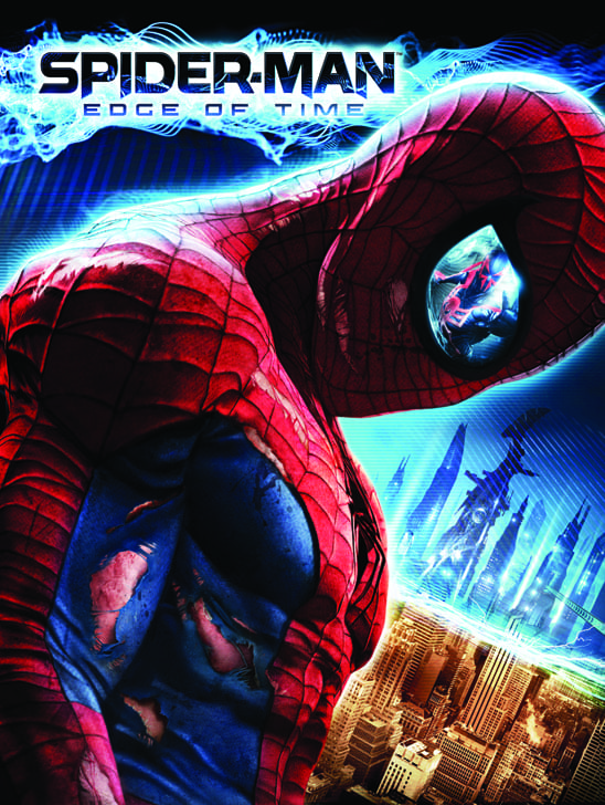 Spider-Man Edge of Time_Key Art