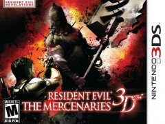 The Mercenaries 3D 240x180 Resident Evil: The Mercenaries 3D + No Save Reset