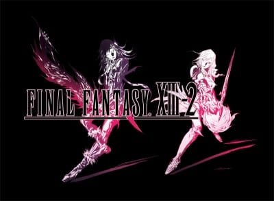 XIII 2  logo black2 Final Fantasy XIII 2 Exclusive videos