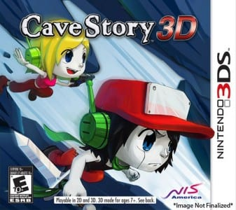 cave story 3d box art1 New Cave Story 3D Screenshots Released