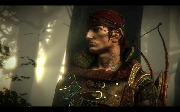 Iorveth Latest Witcher 2 Patch Adds Fixes, Free DLC Quest