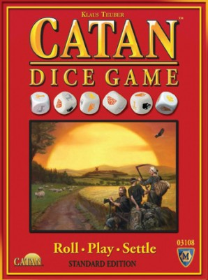 MFG3108 cl 298x400 Catan Dice: Settlers with Six Siders