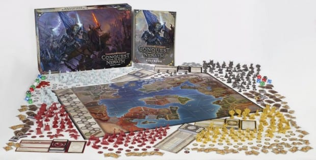 Conquest product shot Dungeons and Dragons: Conquest of Nerath Review