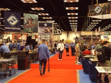 Hall 1 GenCon 2011 Report
