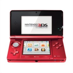Red3DS Nintendo Touts New 3DS Color, Mario Games