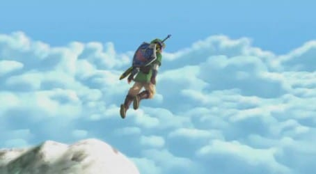 skyjump Skyward Sword Soars November 20th