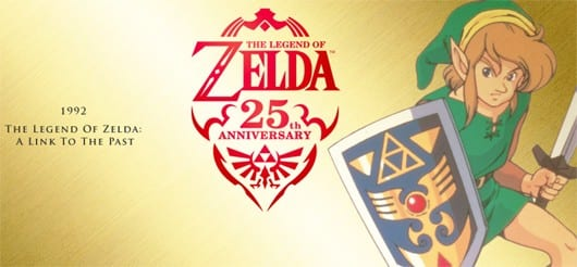 zelda Nintendo Celebrates Zeldas 25th