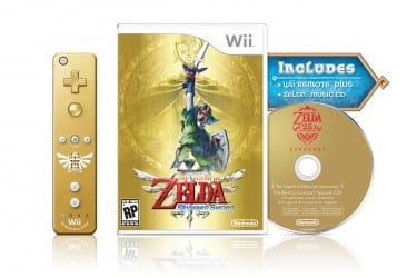zelda1 Skyward Sword Bundle Includes Golden Controller