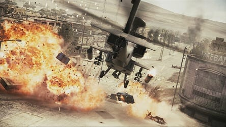 ACAHChopper New Ace Combat Screens Showcase Helicopters, Bombers