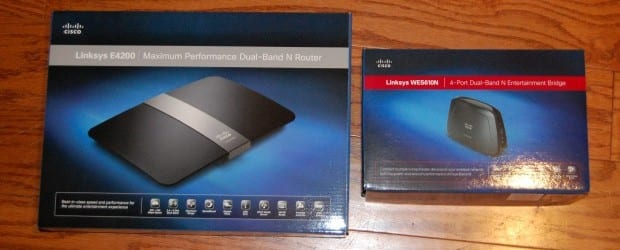 DSC 0389 Linksys E4200 Router and WES610N Bridge Review