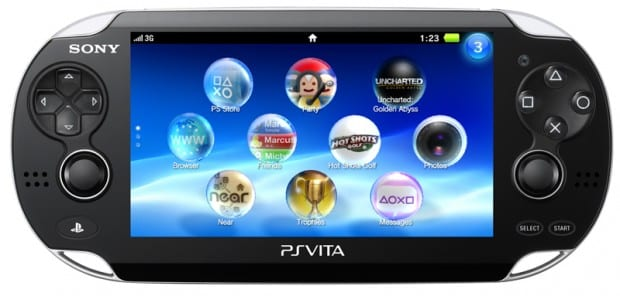 PS Vita frontal Sony Offering SDK in November for PlayStation Suite