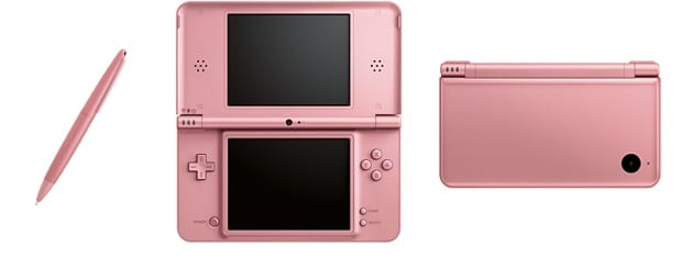 PinkDSiXL Nintendo Does Not Announce Metallic Pink 3DS