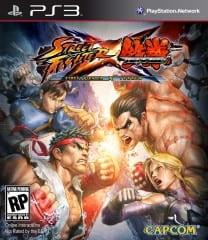 SFXTK PS3 FoB ESRB Street Fighter X Tekken Super Hyper Alpha Championship Asset Blowout Edition