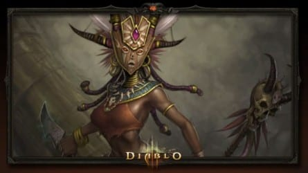 Witch Doctor female Diablo III Beta  Witch Doctor Run