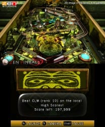 Zen Pinball 3D Eldorado table screenshot 001 Zen Pinball 3D Coming To 3DS This Fall