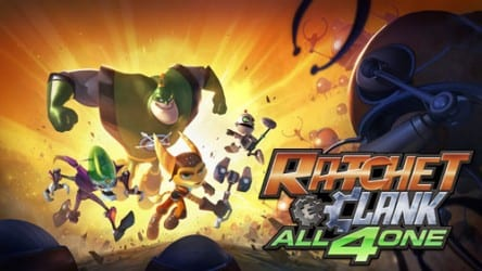 ratchet and clank all 4 one wallpaper Ratchet & Clank: All 4 One Contest!