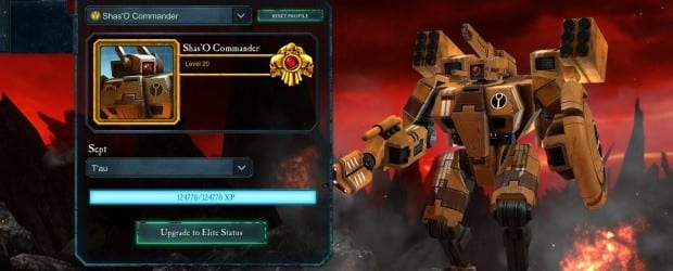 Dawn of War Retribution Tau Commander Makes Last Stand in Dawn of War II: Retribution