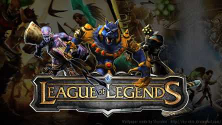 League Of Legends   Wallpaper by shyrubio League of Legends Gets Golden Joystick, Awards Everyone!