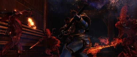 Space Marine Launch Announcement s1 Free Exterminatus Co op DLC Released for Warhammer 40k: Space Marine on PC, PS3   XBLA Soon