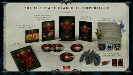 diabloultimatecontents Blizzcon: Ultimate Edition Diablo III Packed With Extras