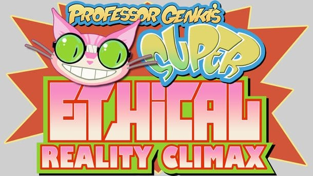 genki610.jpg 610x0 Tim and Eric team up with THQ and Volition to bring you Professor Genki's Super Ethical Reality Climax