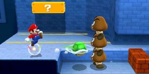 turtleshell Super Mario 3D Land Review
