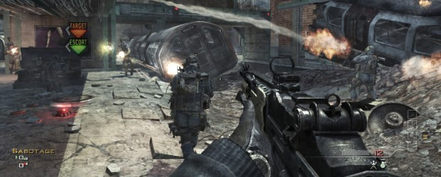 MW3 Launch Screens