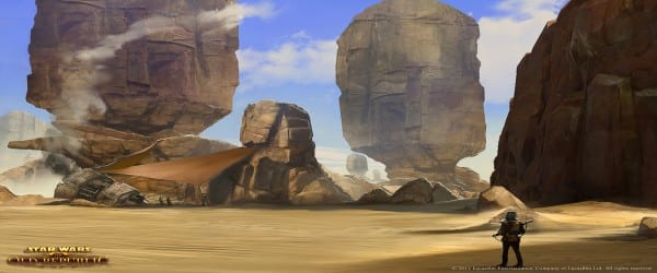 sw Star Wars MMO Goes Live Today... For The Rest Of Us