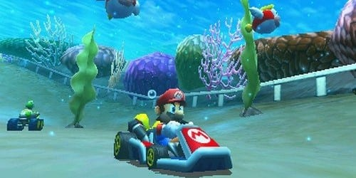 underwater Mario Kart 7 For Nintendo 3DS Releases December 4