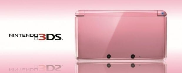 Pearl Pink N3DS Hardware Box Art Pink 3DS Arrives February 10th