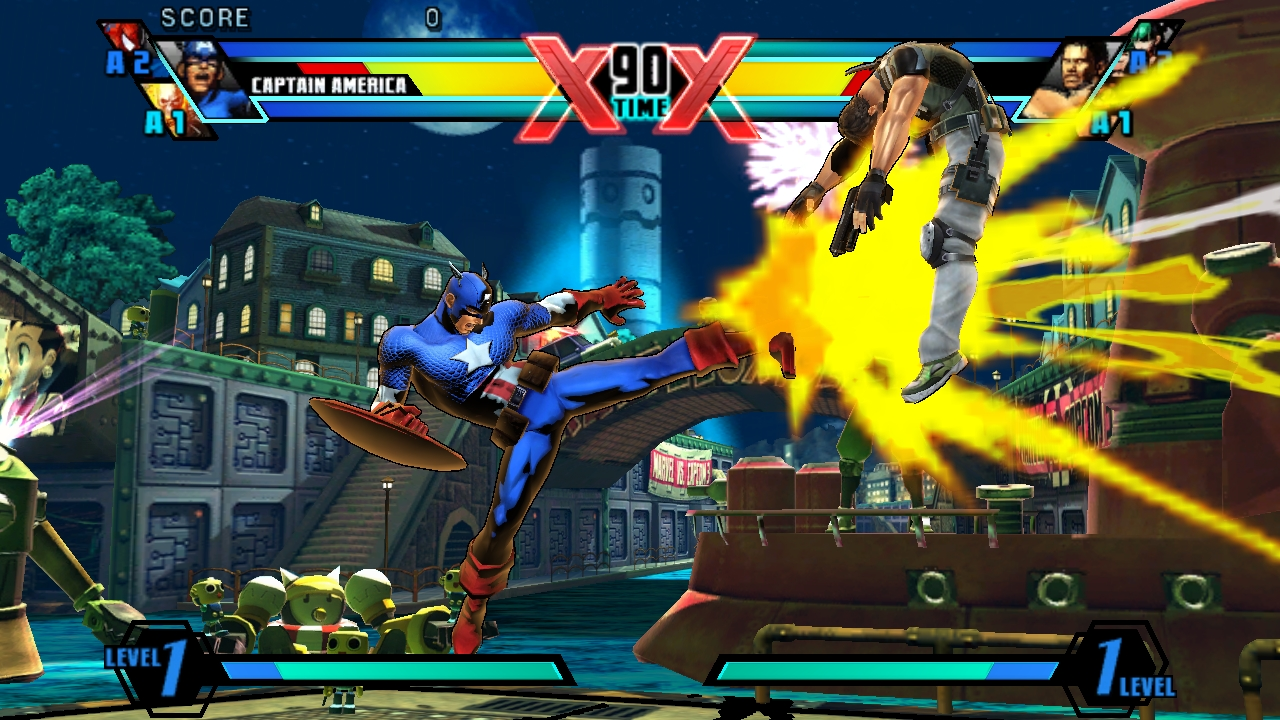 Ultimate Marvel Vs Capcom Vita 11