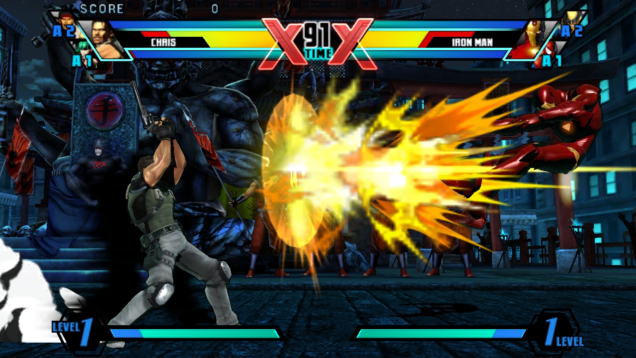 Ultimate Marvel Vs Capcom Vita 13