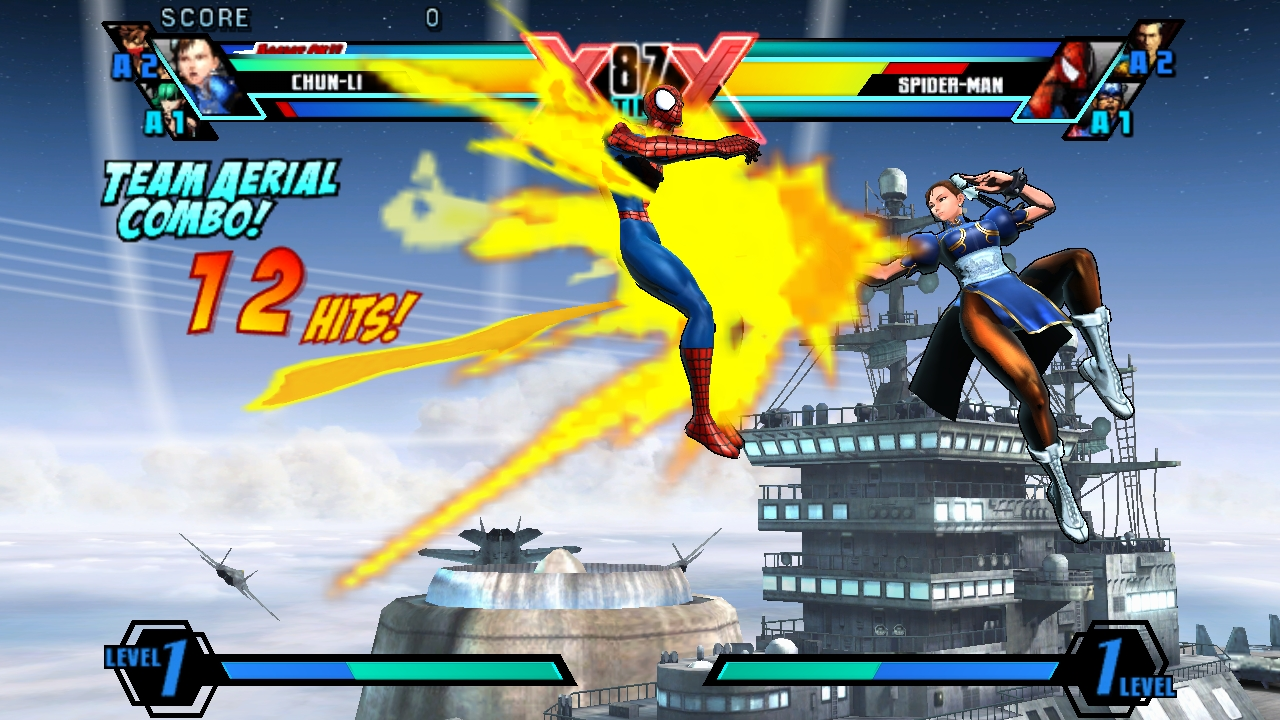 Ultimate Marvel Vs Capcom Vita 14