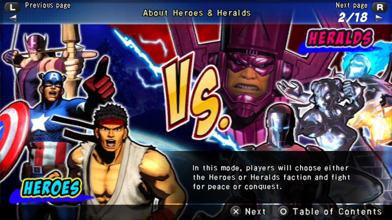 Ultimate Marvel Vs Capcom Vita 16