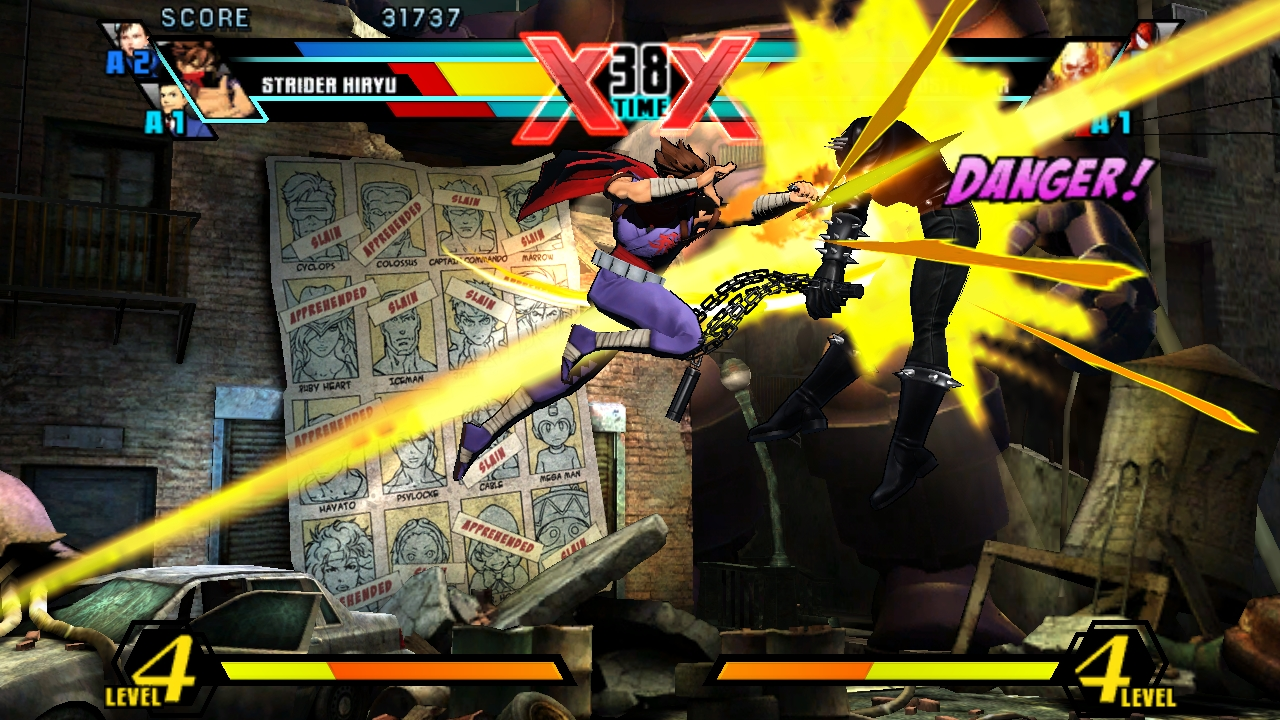Ultimate Marvel Vs Capcom Vita 17