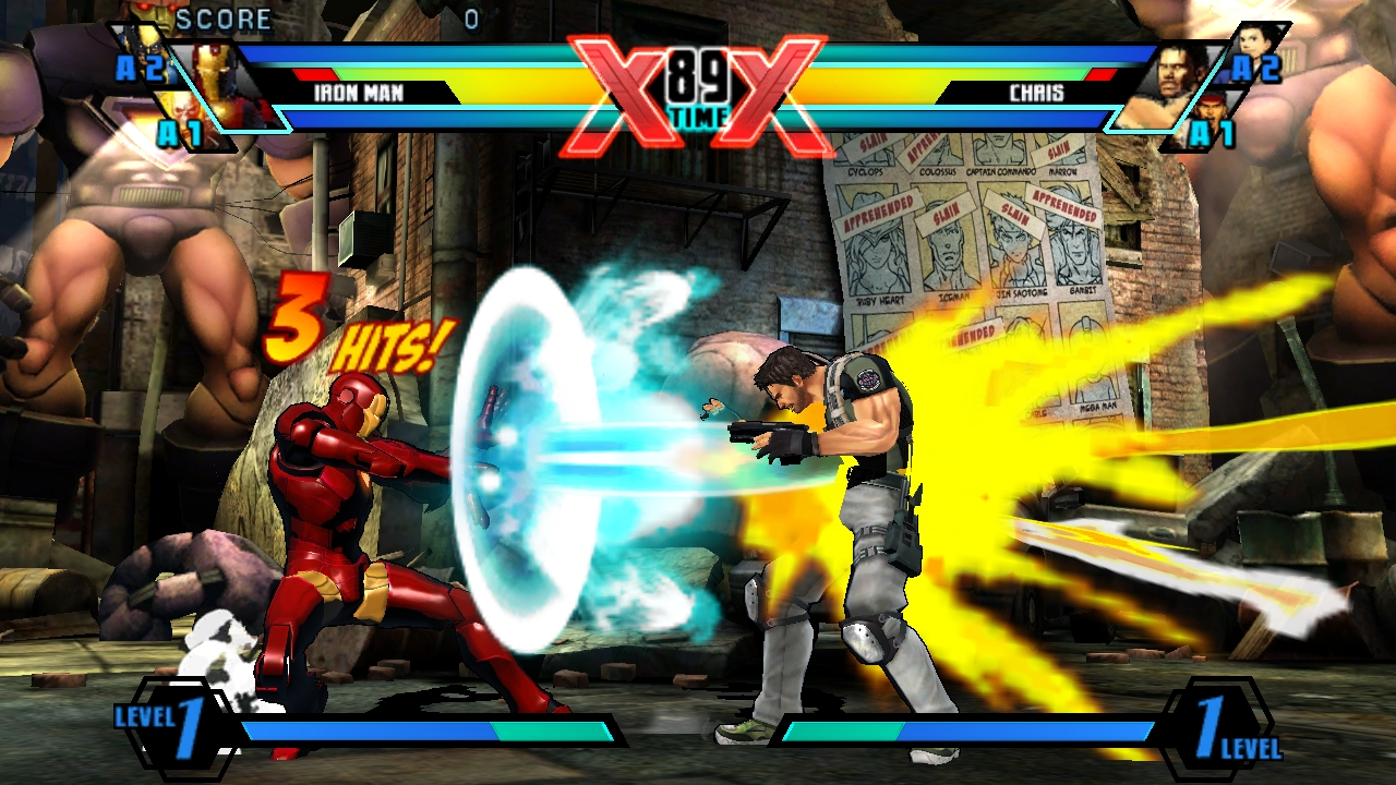 Ultimate Marvel Vs Capcom Vita 21