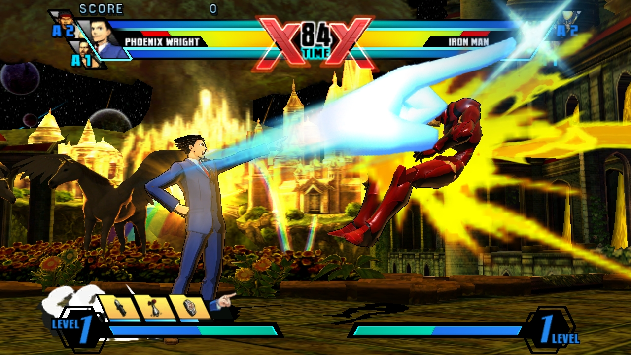 Ultimate Marvel Vs Capcom Vita 25