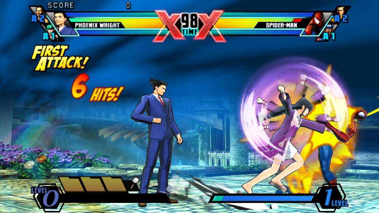Ultimate Marvel Vs Capcom Vita 26