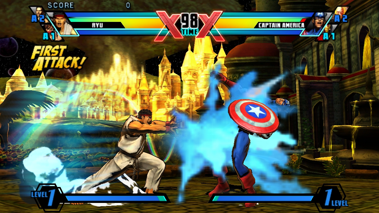 Ultimate Marvel Vs Capcom Vita 27