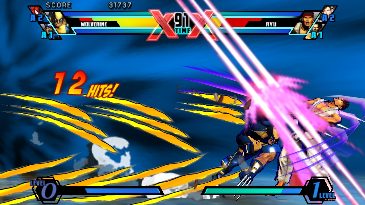 Ultimate Marvel Vs Capcom Vita 32