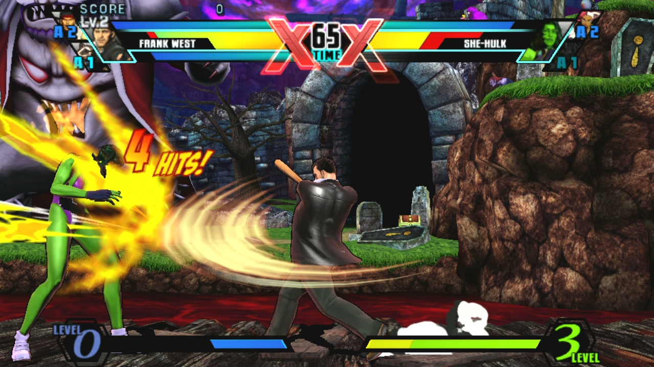 Ultimate Marvel Vs Capcom Vita 4