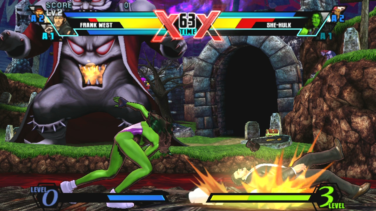 Ultimate Marvel Vs Capcom Vita 5