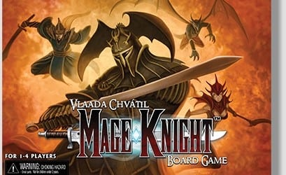 mage knight board game Mage Knight Board Game Reprint Coming