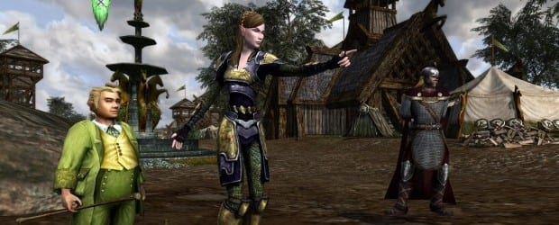 06 u6 soldier on landscape Lord of the Rings Online Expands to the Shores of the Great River