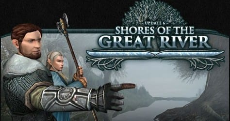 Lord of the Rings Online Shores of the Great River Cover  Lord of the Rings Online Releases Update 6: Shores of the Great River