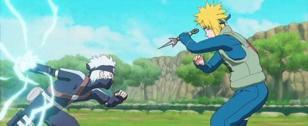 kakashi vs minato Naruto Shippuden: Utlimate Ninja Storm Generations Review 